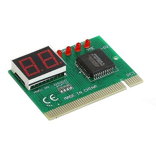 BIlinli 2 bit PC PCI Tarjeta de diagnóstico Analizador de Placa ...