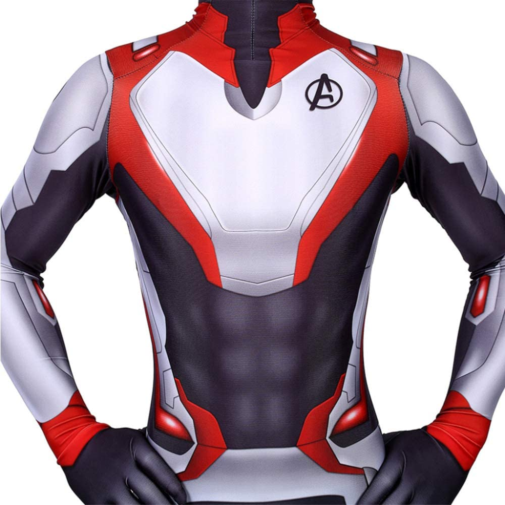 Avengers Movie Cosplay Kost/üm Erwachsener//Kind YXIAOL Superheld Kost/üm Halloween Karneval Party Kost/üm Quantum Kampfanzug