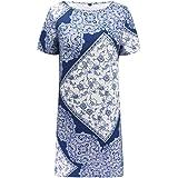 a5e27beecec TEBAISE Vêtements de Boutique de Mode Glamour Mini-Jupe à Manches Courtes  et à imprimé