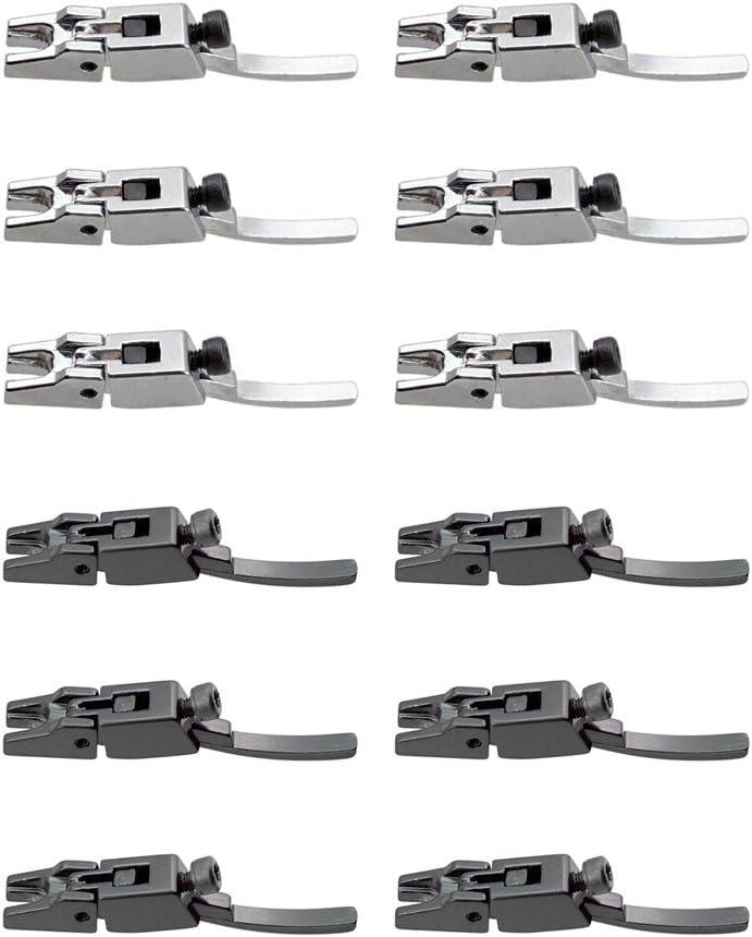 6 Pieces Double Locking System Tremolo Bridge Saddle Replacement Tool Black