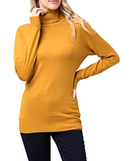 d22b68640bd4f6 Women's Premium Turtle-Neck, Mock-Neck Soft Sweater/Pullover Collection