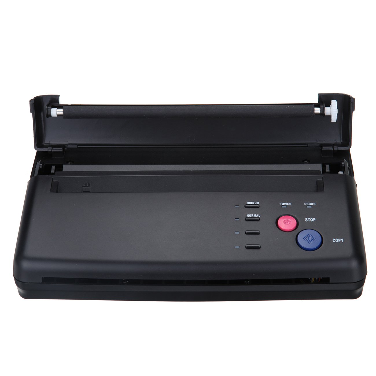Black Tattoo Transfer Stencil Machine Thermal Copier Printer with Bonus Papers by YILONG
