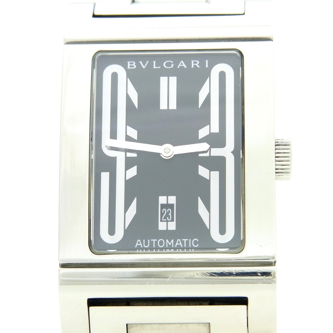 designer fashion be2f6 e097e Amazon   ブルガリ[BVLGARI] レッタンゴロ RT45S メンズ腕時計 ...