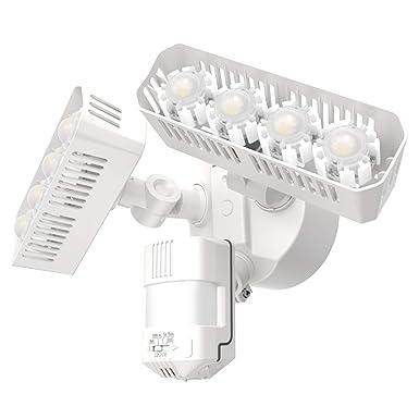 SANSI LED Security Motion Sensor Outdoor Lights, 36W 250W Incandescent Equivalent 3600lm, 5000K Daylight, Dusk to Dawn IP65 Waterproof Flood Light, ETL Listed, White