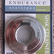Amazon Com Rsvp Endurance Stainless Steel Sink Strainer