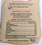 Francine Farine de Ble Bio - French All Purpose Organic Wheat Flour - 2.2 lbs