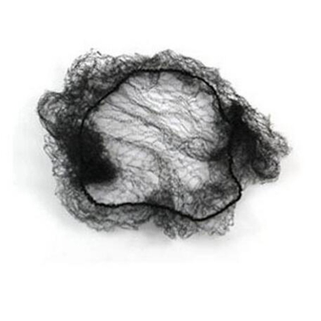 WeKen Pack of 1000pcs Hair Nets Invisible Elastic Edge Mesh 50cm 20'' Black by WeKen