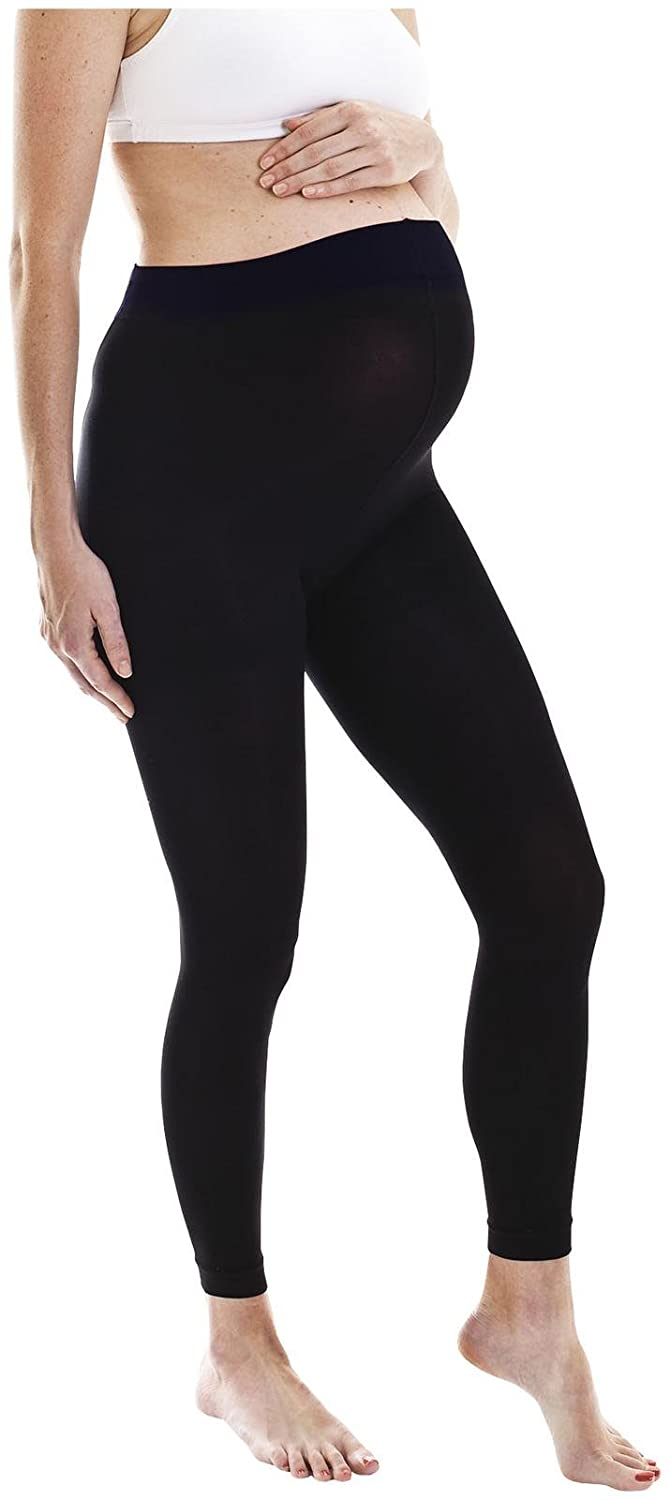 Fertile Mind Women's Footless Tights One Size (Black) 416 kaneta-473023-02