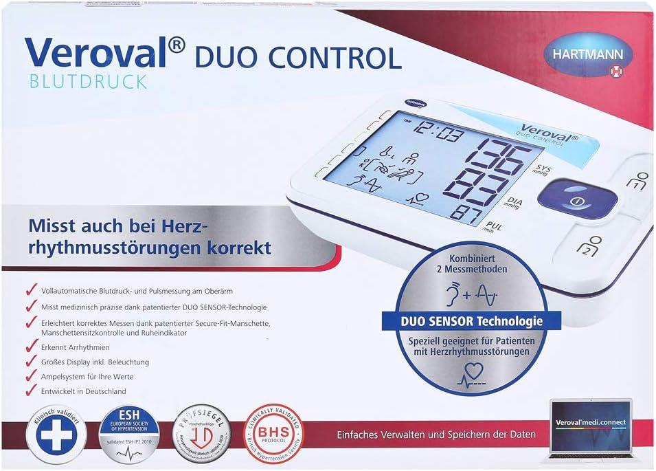 Hartmann Veroval DUO CONTROL - Tensiómetro de brazo