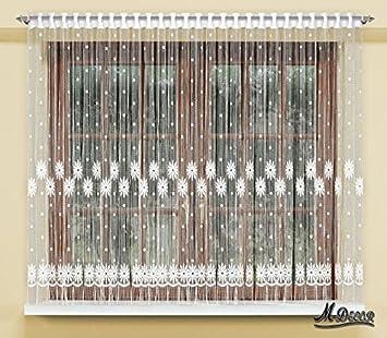 Amazon.de: String Netz Vorhänge Fertig Zum Aufhängen weiß 160 x 300 ...