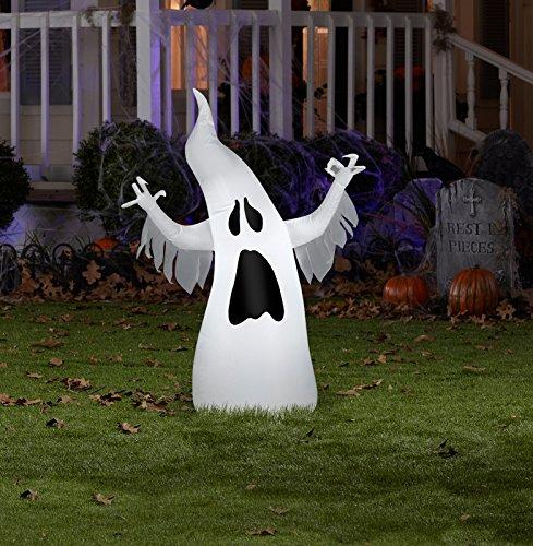 Cute Halloween Cupcakes Martha Stewart (Gemmy 54686 Airblown Halloween Draped Ghost Inflatable, 13.78