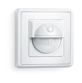 Steinel 750213 Detector de Movimiento IR 180 Ap, Blanco, eficiente de la energía, IP20, Clase de Aislamiento II, para den Interiores, Caja de Enchufe sobre ...