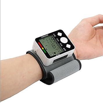 Digital Esfigmomanometro Tensiómetro De Presión Arterial Tensiometro Medidor De Presión Arterial Inteligente De Muñeca Digital: Amazon.es: Deportes y aire ...