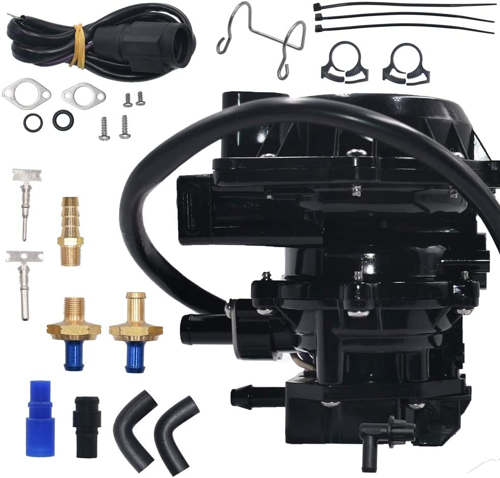 Carbman Fuel Pump Kit 4-Wire 5007423 for Johnson Evinrude Outboard Boat Engines 0174566 0175162 5004559