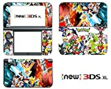 Vanknight Vinyl Decals Skin Sticker Anime for the New Nintendo 3DS XL 2015