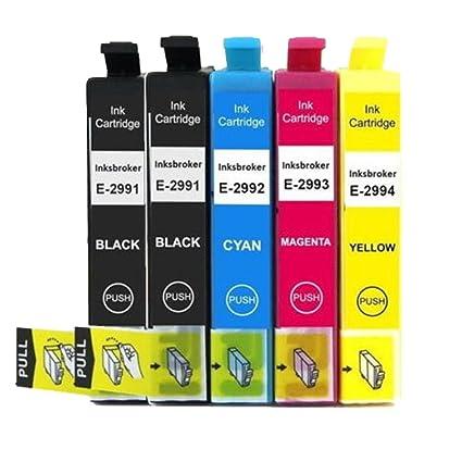 oyat® - Lote de 5 cartuchos tinta oyat T29 X L Compatible con Neuf ...