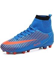 MAXTOP Zapatos de fútbol Hombre FG Spike Botas de fútbol de Caucho para  Hombre Adulto Zapatos 25f4fe13fd1d0