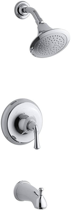 Kohler K T10274 4a Cp Forte Rite Temp Pressure Balancing Bath And