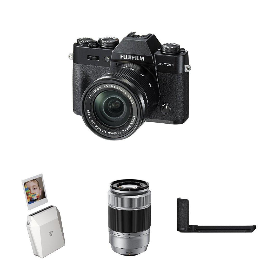 Harga Dan Spek Fujifilm X T20 Kamera Mirrorless Body Only Instax T100 Kit Xc15 45mm F35 56 Ois Pzdark Silver Pwp Xf50 F2 Share Sp 2 Digital Camera Black Square 3