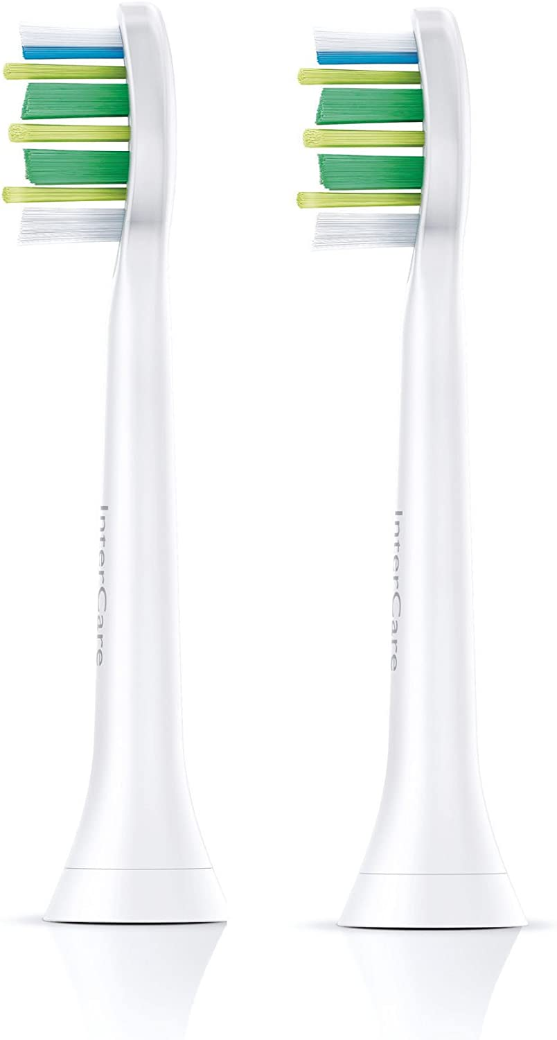 Toothbrush Heads by Philips Sonicare InterCare Standard Sonic Toothbrush Heads HX9002/26 x 2
