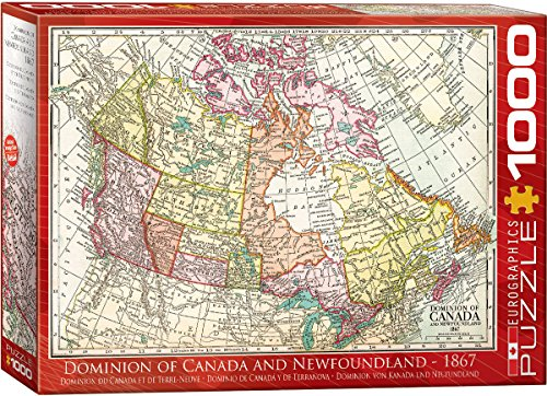 Antique Map Dominion of Canada