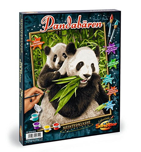 Schipper Pandas Paint-by-Number Kit