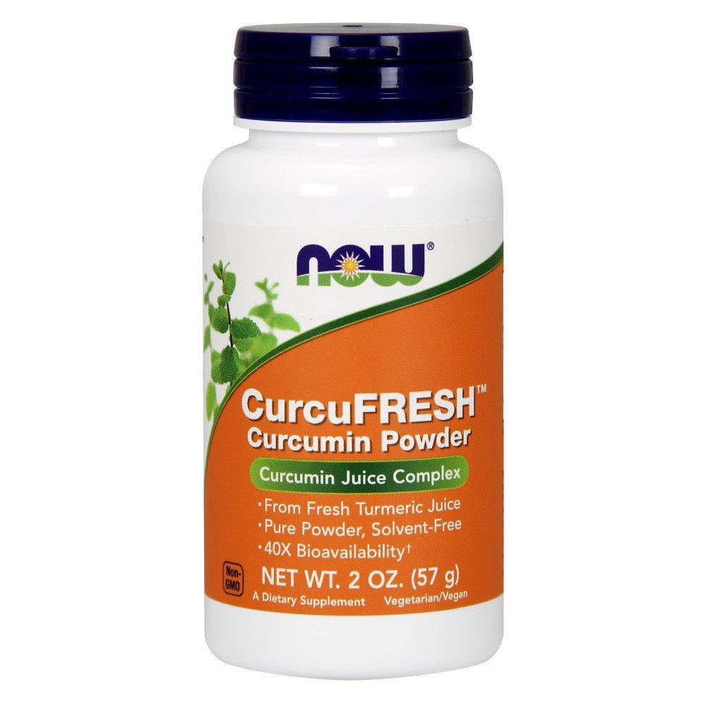 NOW Supplements, CurcuFRESH™ Curcumin Powder from Fresh Turmeric Juice, Curcumin Juice Complex, 2-Ounce