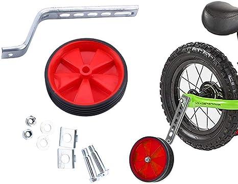 Yosoo ruedines para Bicicleta Infantil Seguridad ruedines para 12 ...