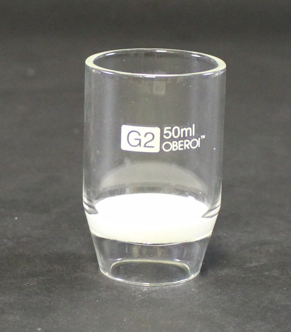 Crucible Gooch with Sintered Disc, G2, 50 mL by Syringa Lab Supplies