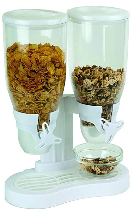 Aps - Dispensador De Cereales Doble Blanco