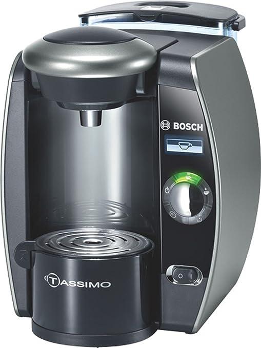 Bosch TAS6515 Tassimo - Cafetera monodosis automática, color titanio