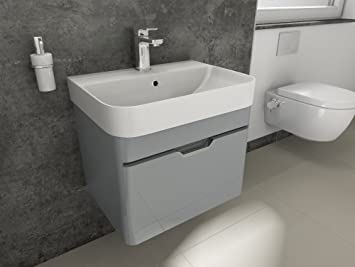 Aqua Bagno Bad-Set Piccolo Gäste-WC-Set Gästebad Badmöbel ...