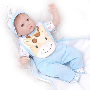Amazon.es: KEIUMI 2018 - Muñecas de bebé reborn de silicona suave de ...