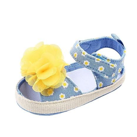 77a2b433d78e7 Amazon.com: Voberry Baby Shoes,Newborn Baby Girls Boys Flower Print ...