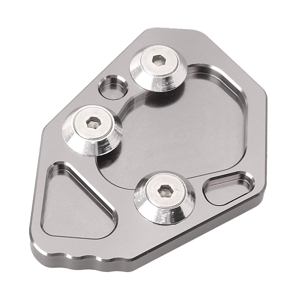 GZYF Aluminum Side Kickstand Pad for Motorcycle K1200S//R K1300S//R 8 Colors