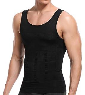 iMage Tank Top - Faja Reductora Adelgazante Hombre Neopreno Camiseta Reductora Compresion de Sauna Deportivo: Amazon.es: Deportes y aire libre