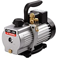 CPS Pro Set VP6S Premium Series 6 CFM Single-Stage Vacuum Pump, Dual Voltage with Gas Ballast Valve, 115 / 230V