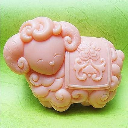 Amarillo diseño de oveja S238 Manualidades DIY Craft kit para hacer bagels moldes para jabón de