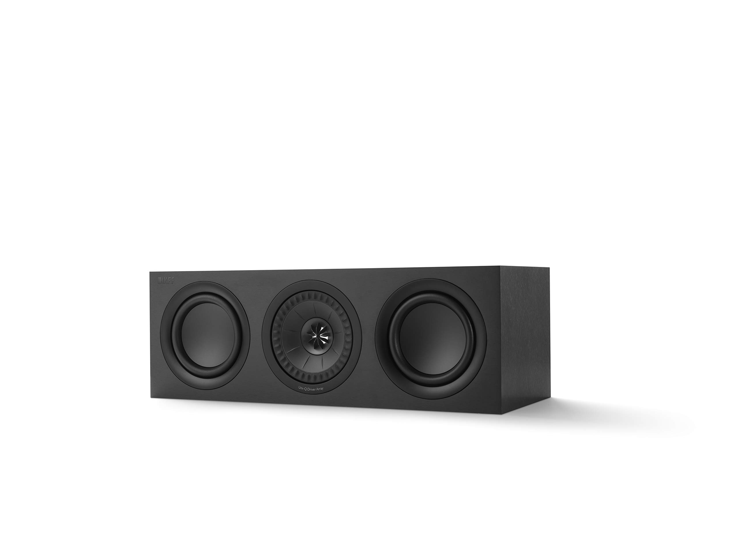 KEF Q250c Center Channel Speaker (Each, Black)