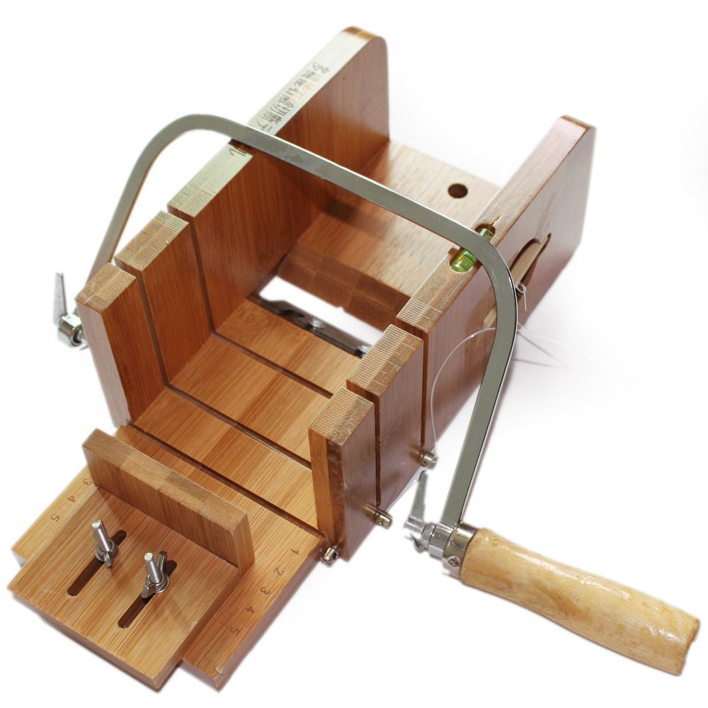 X-Haibei Pro. Practical Wooden Loaf Soap Cutter & Wire String Cutter Saw Kit Supplies
