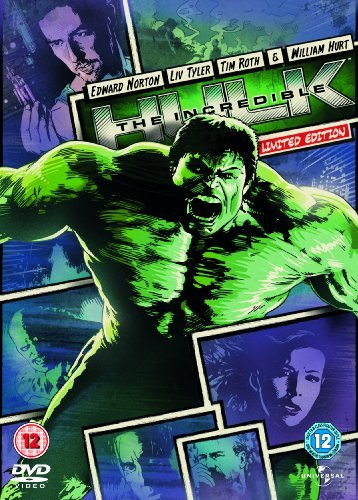 Reel Heroes: Incredible Hulk [DVD] by Edward Norton B01I06TZRE