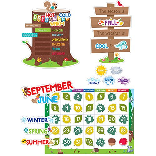 Creative Teaching Press Woodland Friends Calendar Set (8006)