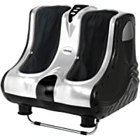 Foot Massager Ankle Calf Leg Shiatsu Kneading Rolling Vibration Heat 4 Motors