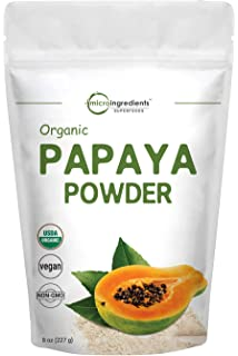 Papaya polvo de hoja: Amazon.com: Grocery & Gourmet Food