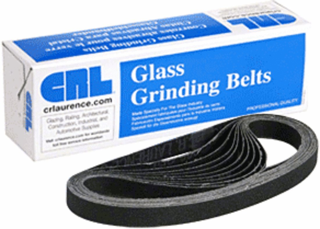 CRL 1/2' x 18' 400X Grit Silicon Carbide Abrasive Belt - 10/Bx CR Laurence