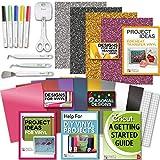 Cricut Tools Bundle Beginner Cricut Guide, Vinyl Pack, Basic Tools and Cricut Explore Fine Point Pens
