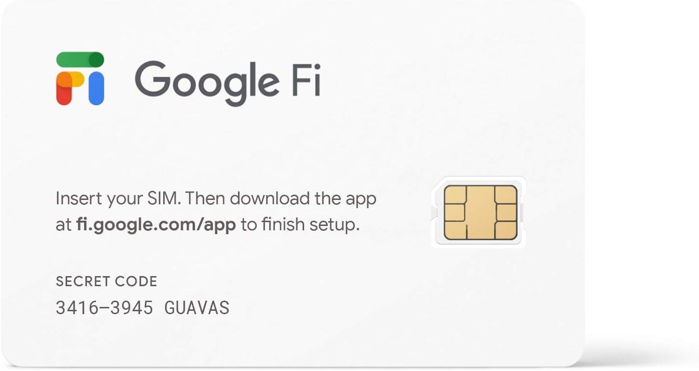 Kit de tarjeta SIM de Google Fi: Amazon.es: Electrónica