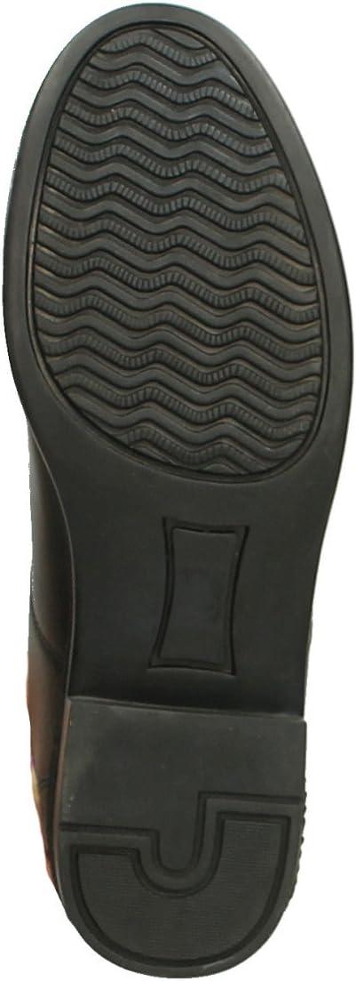 QHP Reitstiefeletten Stiefeletten Jodhpur Manilla Leder schwarz