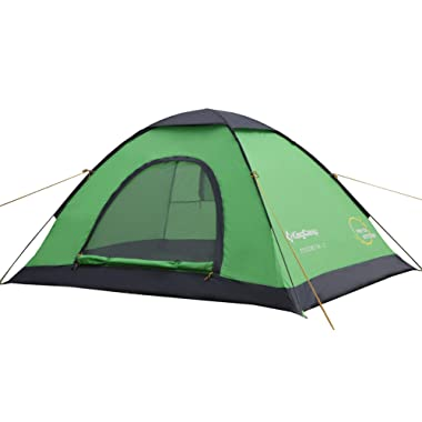 KingCamp Modena 2-Person/3-Person Light Instant Pop-Up Single Layer Leisure Tent