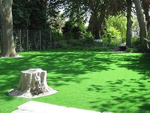 Gewicht ca UV-Garantie 12 Jahre DIN 53387 Kunststoffrasen - 4,00 m x 4,50 m Kunstrasen Rasenteppich Greenlife f/ür Garten 2369 g//m/² Rollrasen Florh/öhe 30 mm